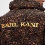 Karl Kani Og Corduroy Puffer Jacket Paisley