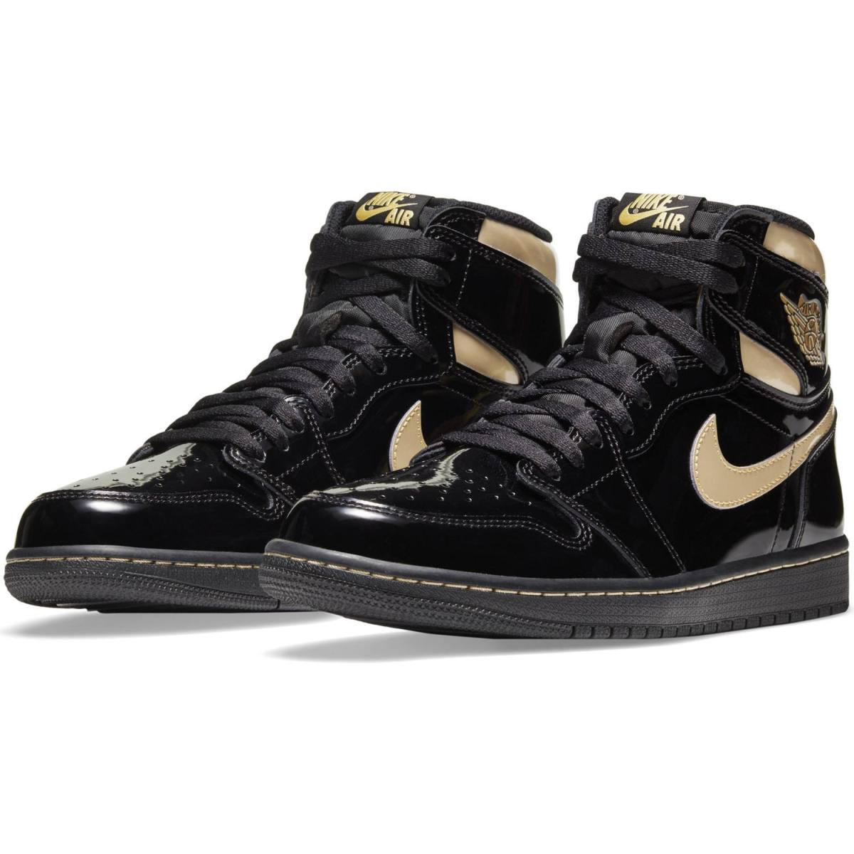 Jordan 1 Retro High Og Black & Gold