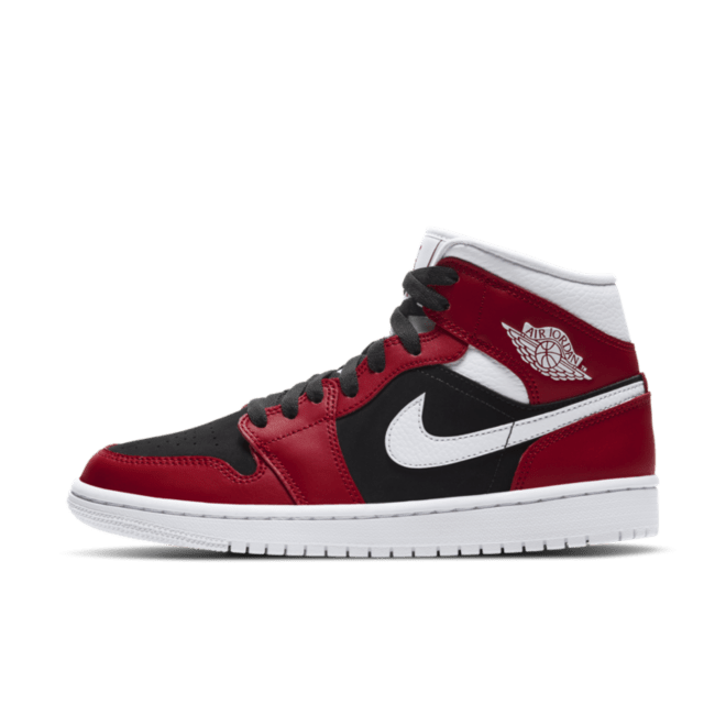 Jordan 1Mid Gym Red Black