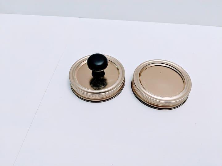 DIY mason jar organizer 11