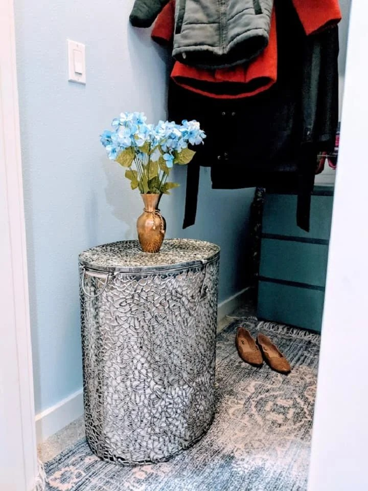 pretty laundry hamper