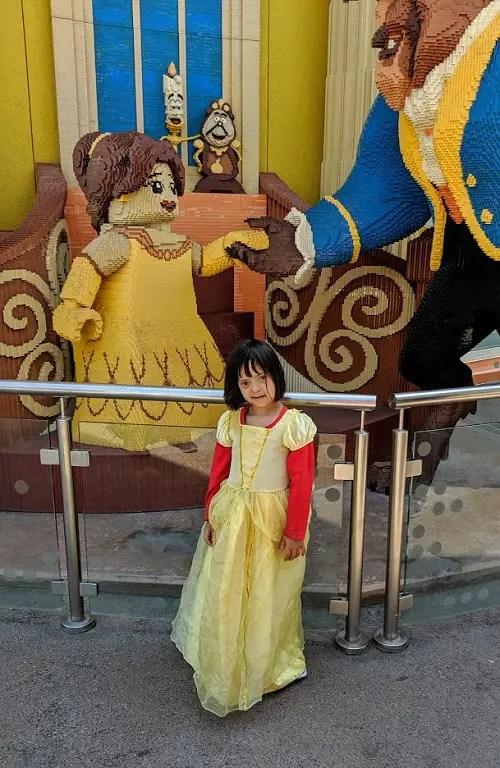 Bell costume for girls