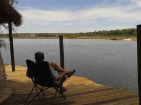 The bushsnob enjoying the view.