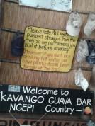Bar's advice...