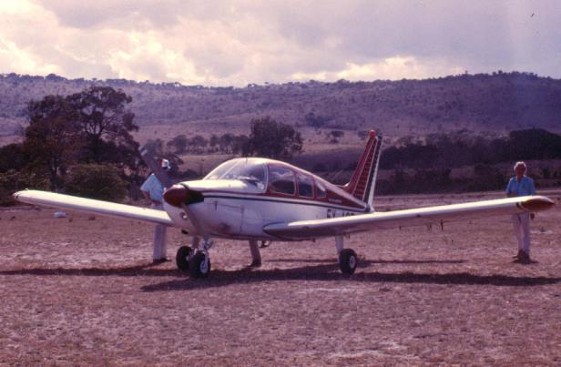 """One of our """"bush flights"""" to Intona ranch in the Transmara."""