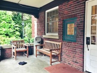 Gracemont porch