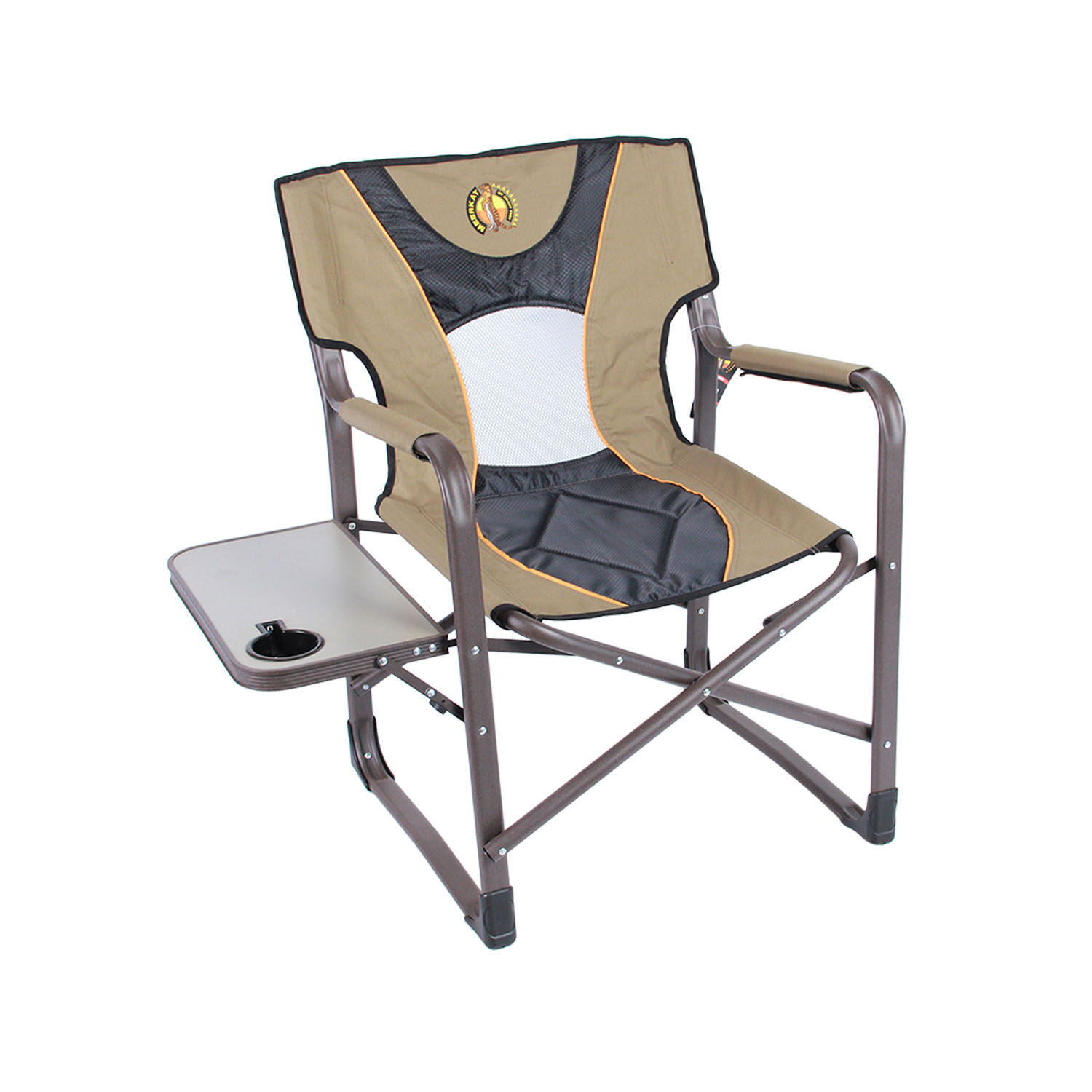 Folding Directors Chair With Side Table Meerkat Directors Chair With Side Table Bushtec Adventure