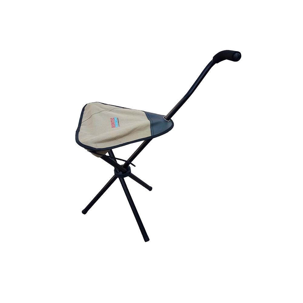 walking stick chair best chairs geneva glider ottoman espresso caviar velvet bushtec adventure