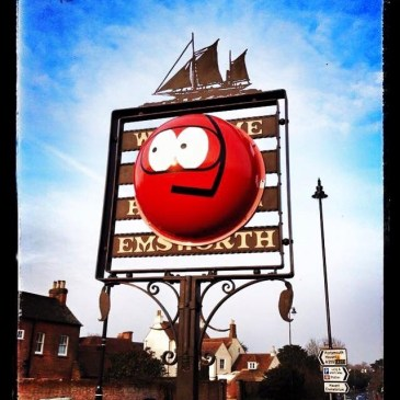 #emsworthrednoseday Raising money for charity; Emsworth local business;