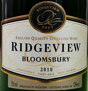 English Sparkling Wine - Sussex Ridgeview Bloomsbury - beats Champagne