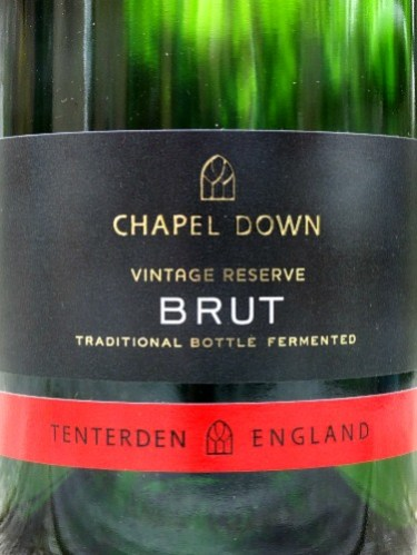 Chapel Down Classic Non Vintage Brut; terrific English Sparkling Wine from grapes grown in Sussex and Kent. Excellent value fizz.