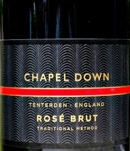 Chapel Down Brut Rosé equal to Pink Champagne, made from 100% Pinot Noir. Beautifully balanced, fresh and effortless style. Strawberry, cherries, raspberry fruit and background toasty notes. Decanter Silver Medal