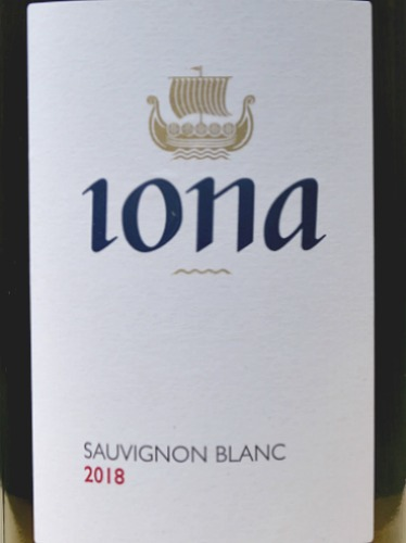 Iona Sauvignon Blanc 2018 stunning, textured Sauvignon from cool climate South Africa; Elgin. 92 points Tim Atkin MW South Africa Report. Like a Pouilly Fume in style and excellent value from Bush Vines.