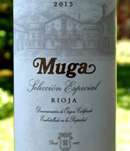 Muga Seleccion Especial Reserva 2015; an outstanding Reserva awarded 96 points by Tim Atkin MW; Complex, rich yet refined and elegant at the same time. Stunning Reserva in all respects from top Rioja producers. Fantastic wine from an excellent Rioja vintage.