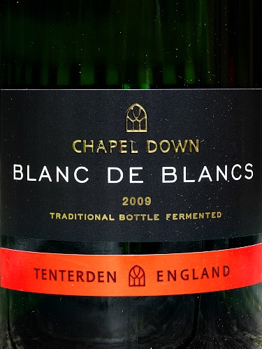 Chapel Down Blanc de Blancs 2009: IWC Gold Medal 2015: Terrific wine at a competitive price