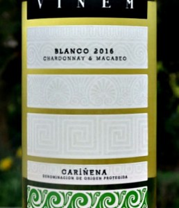 Vinem Blanco 2016; fresh Chardonnay and Macabeo blend from NE Spain. Brilliant value from family run Bodegas Esteban