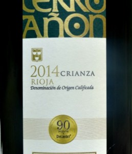 Cerro Anon Crianza, Classic Rioja Crianza; 90 points Decanter; brilliant value; tasty Rioja