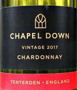 Chapel Down Chardonnay 2017, stunning, elegant, unoaked Chardonnay from England. Just like a Chablis. Complex, layered palate, brilliant fruit. Competitive price at £13.50