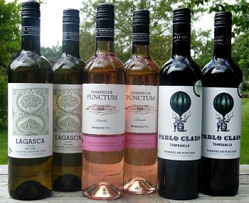 Spanish Organic & Biodynamic Wines from Dominio de Punctum: brilliant value; delicious Gold medal winning Viognier, fantastic Rosado, wonderful Tempranillo: Quality Spanish Wines