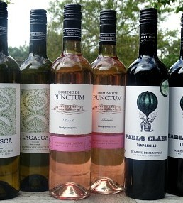 Spanish Organic & Biodynamic Wines from Dominio de Punctum: brilliant value; delicious Gold medal winning Viognier, fantastic Rosado, wonderful Tempranillo: Quality Spanish Wines