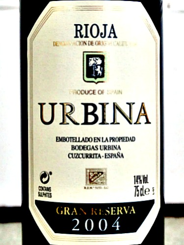Bodegas Urbina Gran Reserva 2004 is an elegant, complex, mature Gran Reserva from a top Rioja vintage. Intense and refined at the same time. As Jancis Robinson says this Gran Reserva makes a big impact and is good value for such a mature wine. Check out Bush Vines brilliant price of £20.50 for one of the Top 100 Riojas London Tasting 2018.