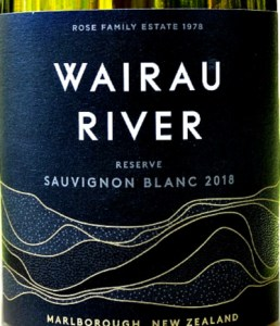 Wairau River Sauvignon Blanc Reserve 2018 a stunning Marlborough Sauvignon from the Rose Family Estate. Pure fruit, full flavours, flinty, elegant and restrained NZ Sauvignon Blanc. Great price from Bush Vines