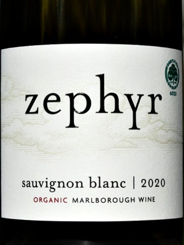 Zephyr Sauvignon Blanc 2020 (Organic) Stunning, complex and restrained Kiwi Sauvignon Blanc. 95 Points: Outstanding as reviewed in Decanter Magazine. Melon, white peach and gooseberry fruit. Delicious and complete. Star buy at Bush Vines.