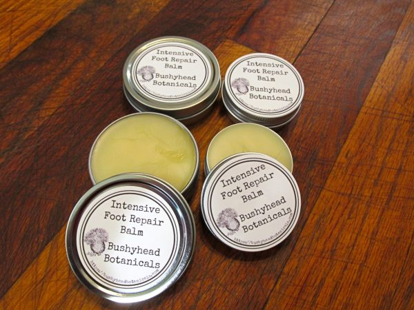cracked heels and foot balm