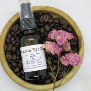 rose and coffee under-eye serum