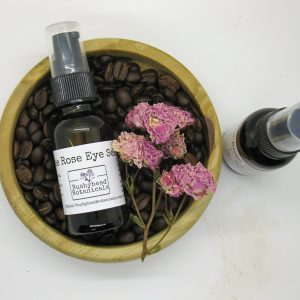 rose and coffee under-eye serum