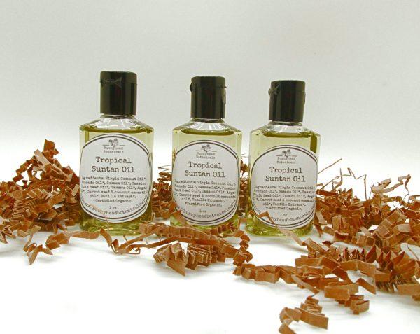 natural tropical suntan oil small