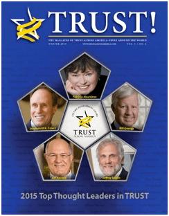 Trust Magazine Cover