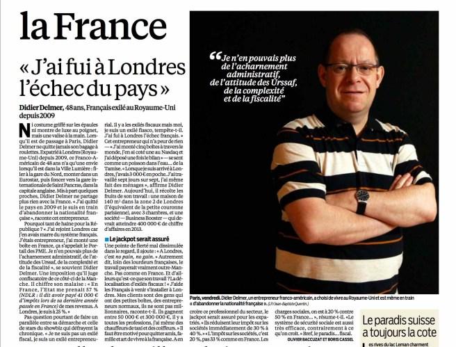 Londres ici Londres : Paradis des Entrepreneurs