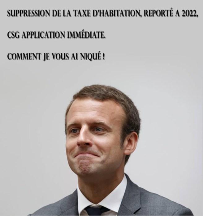Fail de Macron 2018