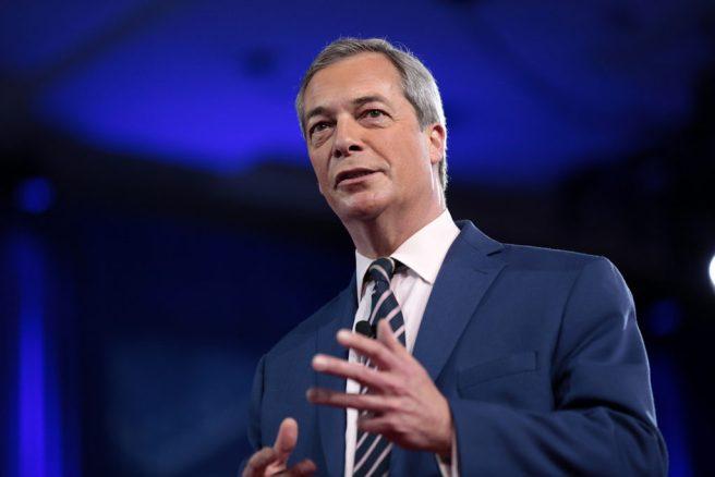 Nigel Farage, artisan du Brexit