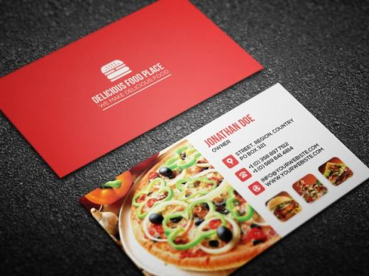 Delicious-food-business-card-template-red-580x435