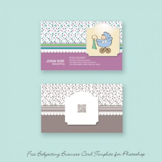 Free-Babysitting-Business-Card-Template-for-Photoshop-580x580