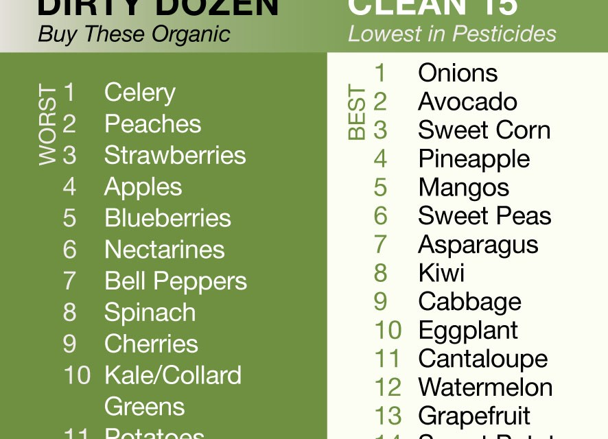 The Most Important Foods to Buy Organic