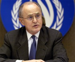 John Ruggie, Special Representative of the UN Secretary-General for Human Rights, in Geneva, Switzerland.  March 2007.