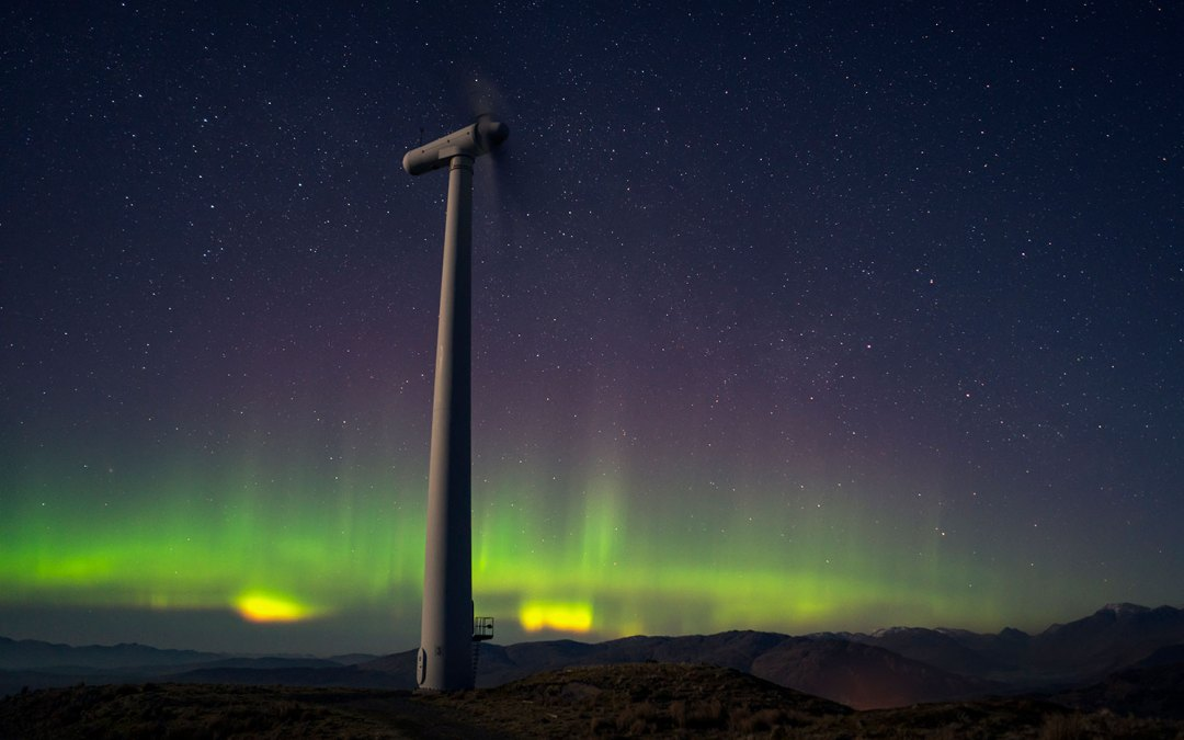 Photos for renewable energy client