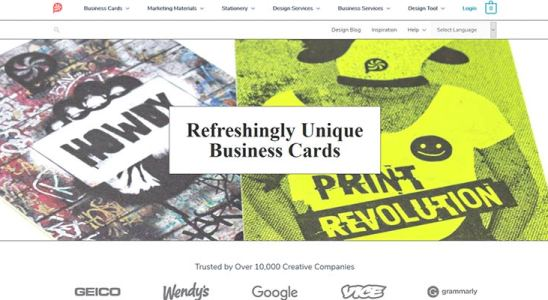 Create Business Cards as Unique as You with Print Peppermint Sponsored