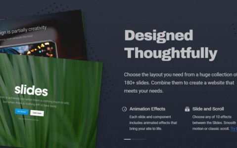 How to Use Slides to Create Impressive Landing Page Designs Sponsored