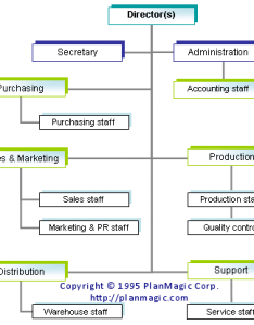 also organizational chart in business plan rh international uib