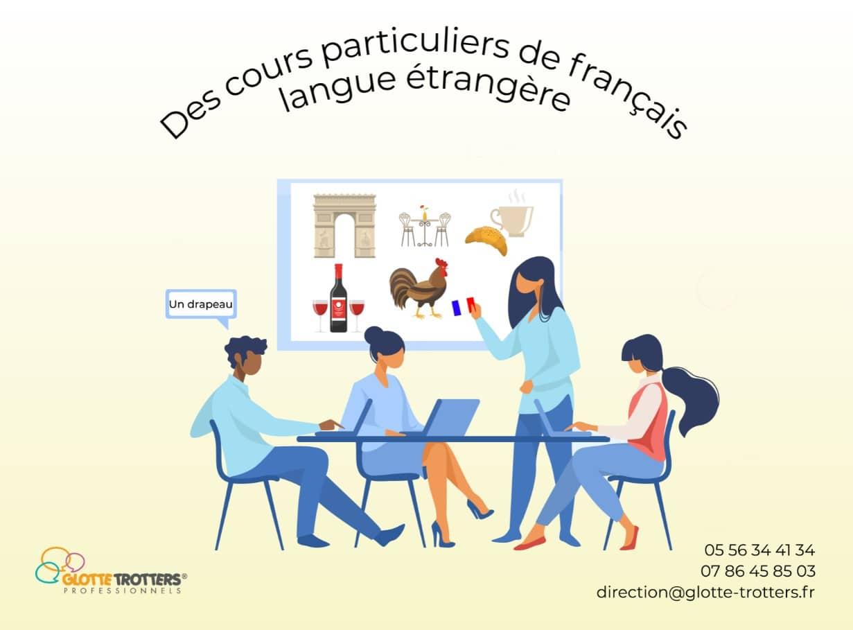 cours particuliers de français langue étrangère