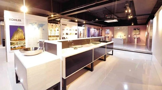 Kohlers impressive showrooms area  Inquirer Business