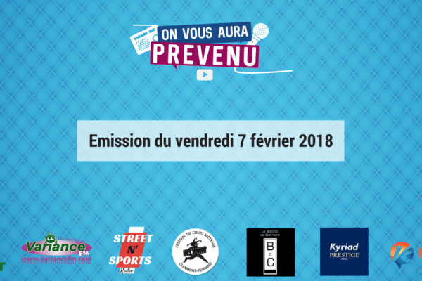 Emission du lundi 5 février 2018