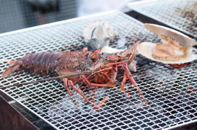 魚介類 BBQ