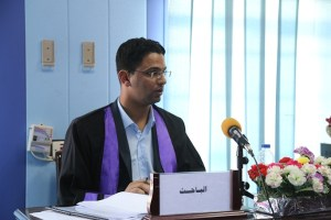 Read more about the article مناقشة الطالب ميثم خضير