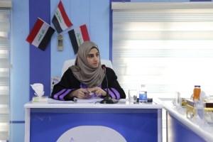 Read more about the article جانب من مناقشة الماجستير للطالبة زهراء يوسف عباس السعدي