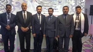 جانب من مشاركة الدكتور حامد محسن جداح المسعودي في المؤتمر العلمي الدولي الاول لــ كلية الامام الكاظم (ع)